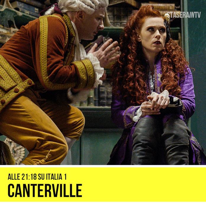 alle 21:18 Italia 1 Canterville - Un fantasma per antenato (2016)