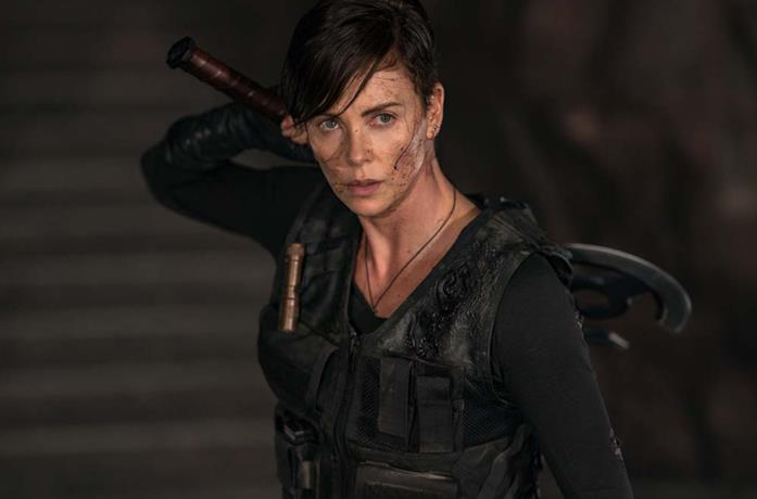 Charlize Theron in Old Guard