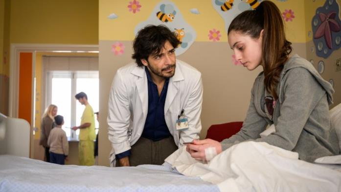 Una scena del medical drama