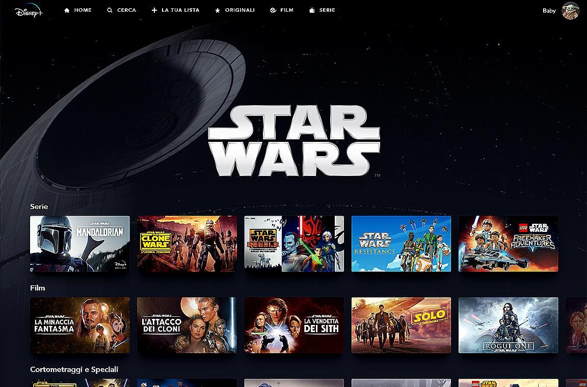 Una scena del film L'Impero colpisce ancora