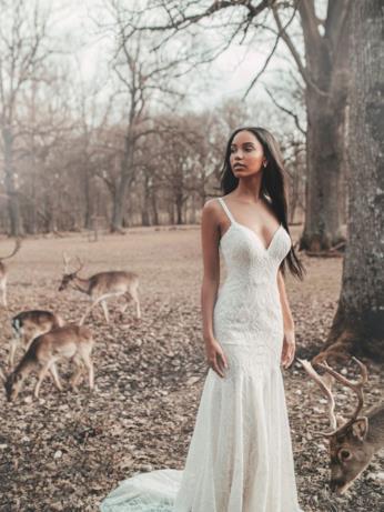 L'abito da sposa ispirato a Pocahontas