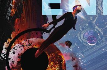La copertina del libro di Liu Cixin