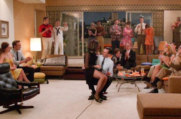 Il cast di Mad Men