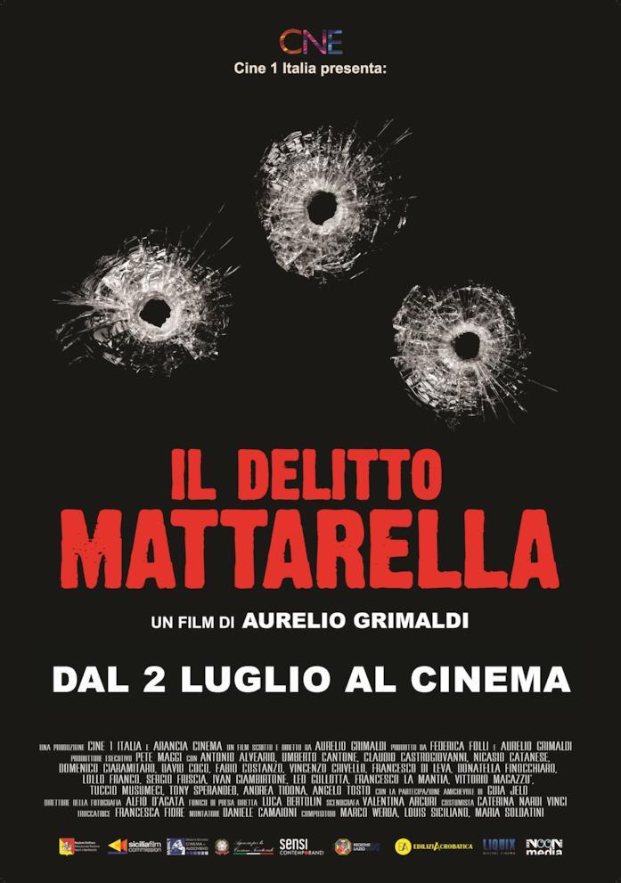Il poster del film Il Delitto Mattarella