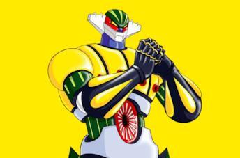 Un'immagine di Jeeg robot d'acciaio