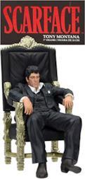 Scarface Tony Montana Sitting Up Figure 18 cm
