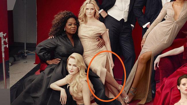 La copertina dell'Hollywood Issue di Vanity Fair con Reese Witherspoon
