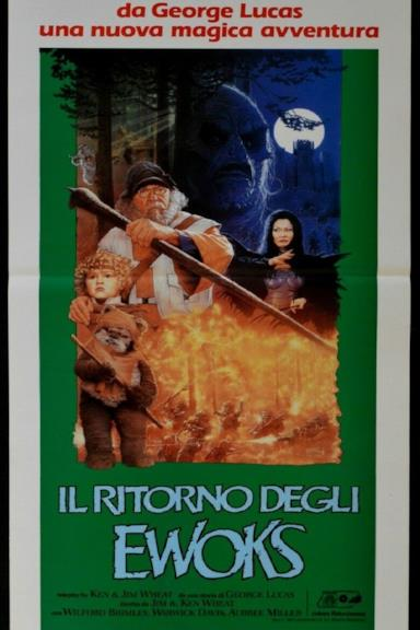Poster Il ritorno degli Ewoks