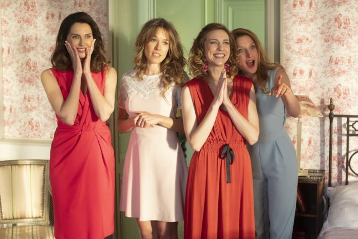 Le quattro attrici del film Non sposate le mie figlie 2