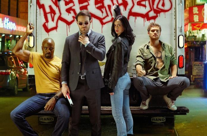 I protagonisti di Marvel's Daredevil