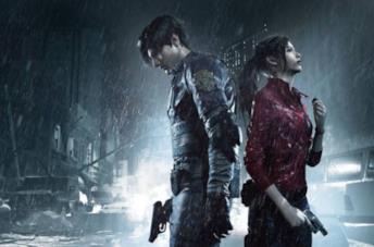 Una scenda da un videogame della saga Resident Evil