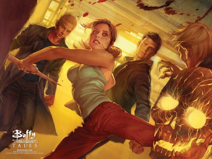 Spike, Buffy e Angel ancora insieme in un fumetto di Dark Horse