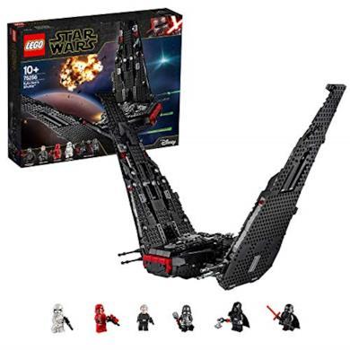 Star Wars Shuttle di Kylo Ren, Set di Costruzioni per Viaggiare nella Galassia, 10+