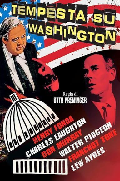 Poster Tempesta su Washington