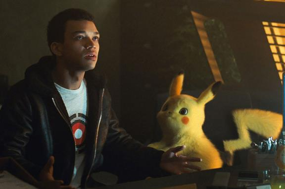 Justice Smith in Detective Pikachu