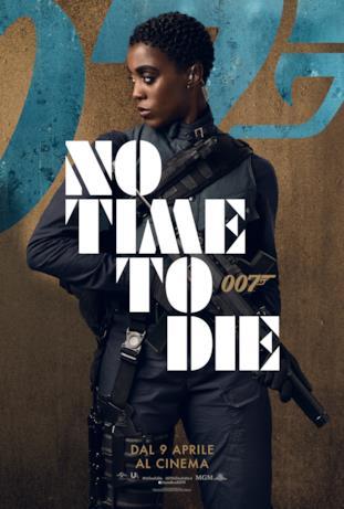 Naomie Harris  - poster di No Time To Die