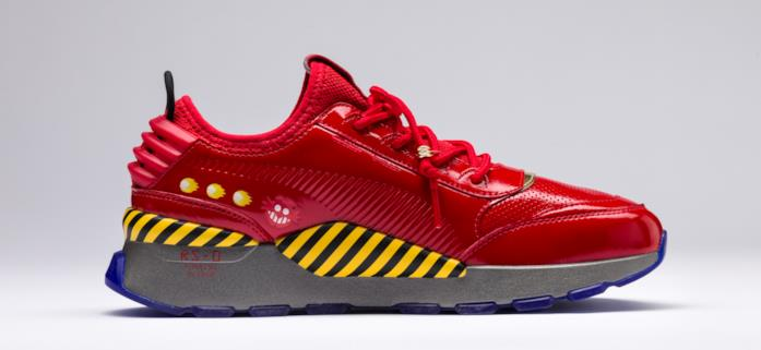 Le scarpe di Puma dedicate al Dr. Eggman
