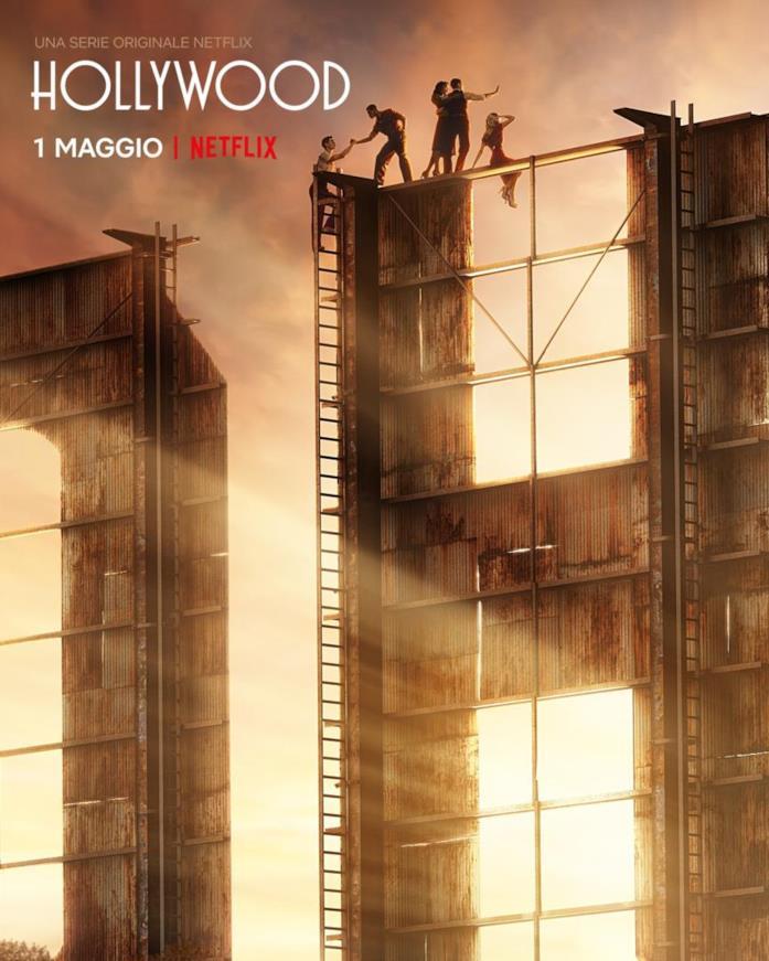 HOLLYWOOD, la nuova serie di Ryan Murphy, dal 1° maggio solo su Netflix