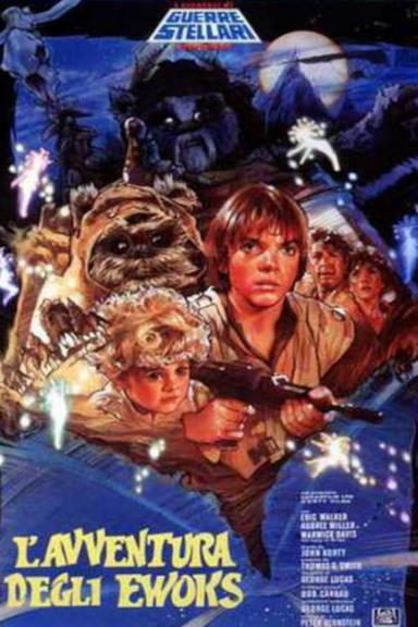 Poster L'avventura degli Ewoks