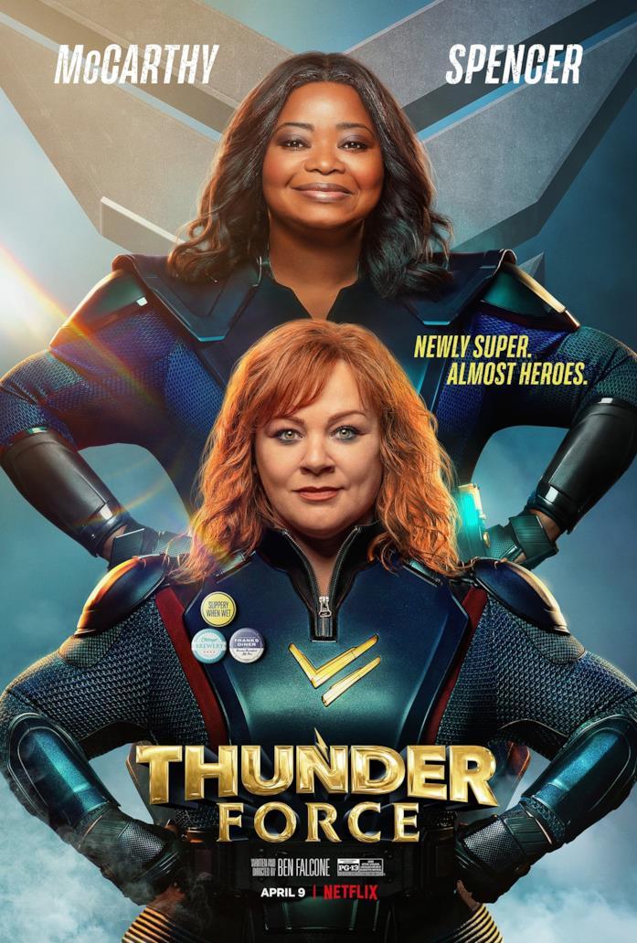 La locandina di Thunder Force