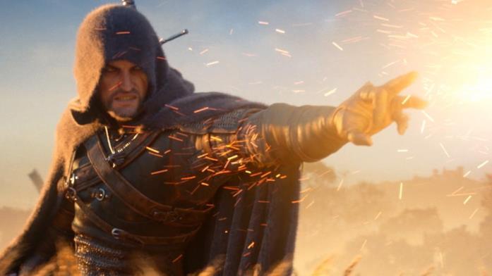 Il segno Igni nei videogiochi di The Witcher
