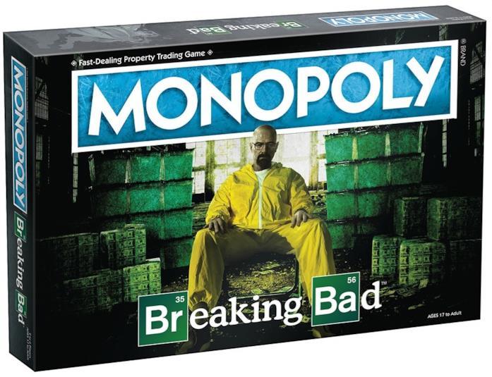 La scatola del Monopoly di Breaking Bad