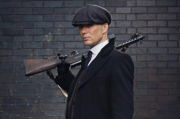 Cillian Murphy, protagonista di Peaky Blinders