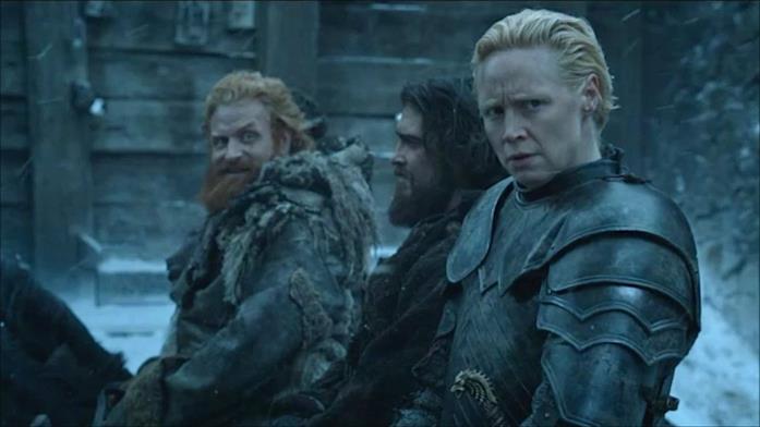 Tormund è molto attratto da Brienne