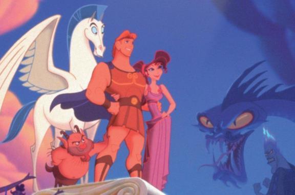 I protagonisti di Hercules (1997)