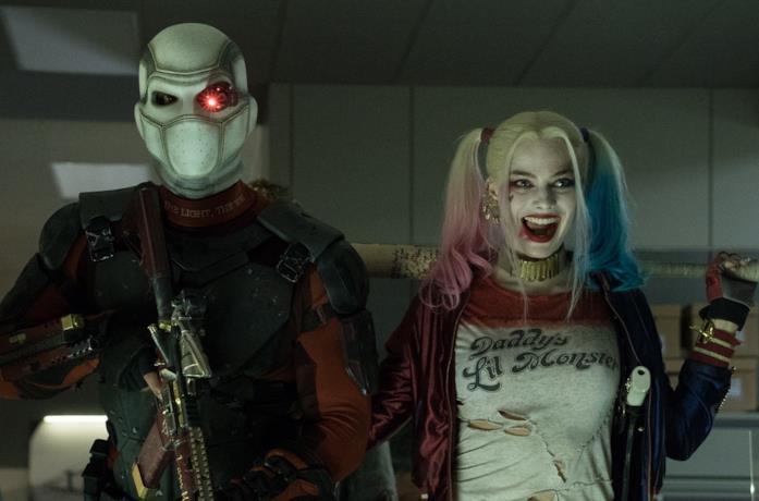 Una scena del primo Suicide Squad