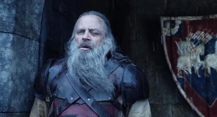 Mark Hamill in The Witcher 2 come Vesemir