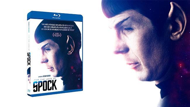 Leonard Nimoy in costume da Spock sulla cover di For the Love of Spock