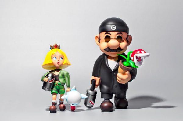 La statuetta cross-over tra Super Mario e Léon