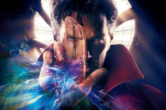 Benedict Cumberbatch come Doctor Strange