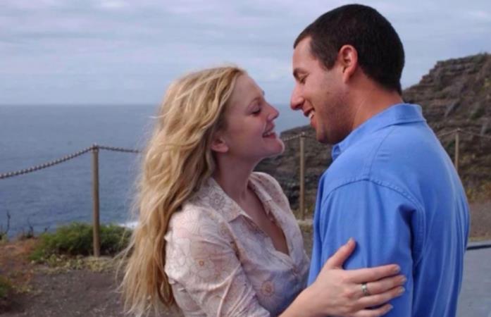 Una scena di 50 volte il primo bacio