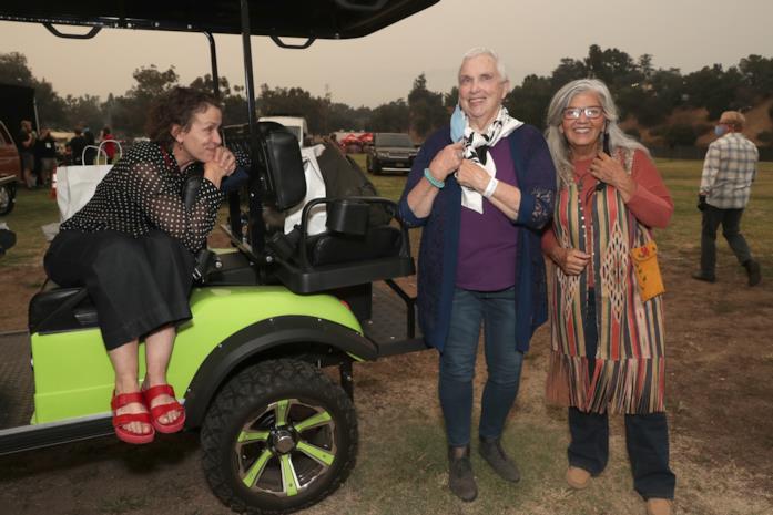 Frances McDormand e le nomadi che hanno partecipato al film