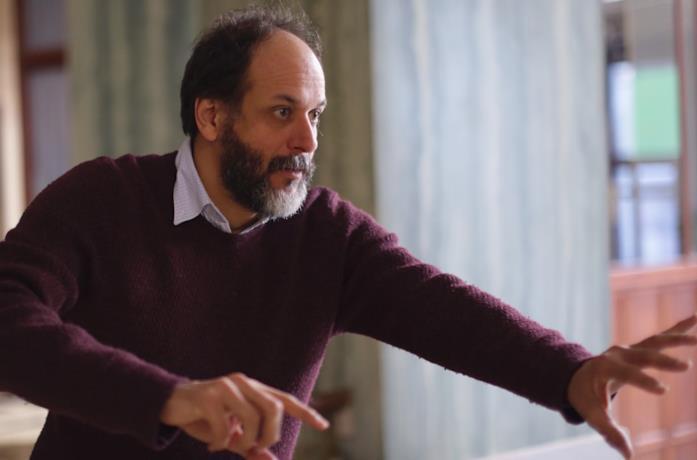 Luca Guadagnino sul set di Suspiria