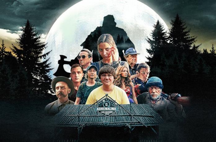 Il cast di Non dormire nel bosco stanotte