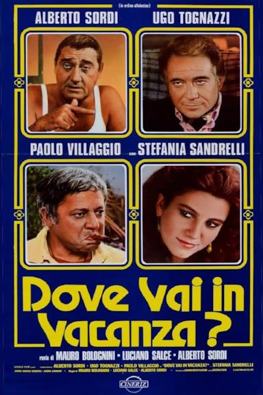 Poster Dove vai in vacanza?