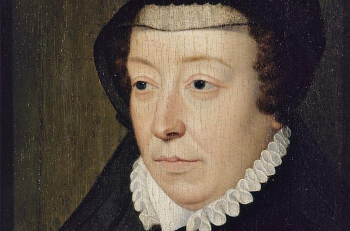 Dipinto che ritrae Caterina de' Medici