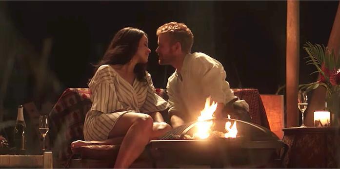 A Royal Romance, una scena del film TV