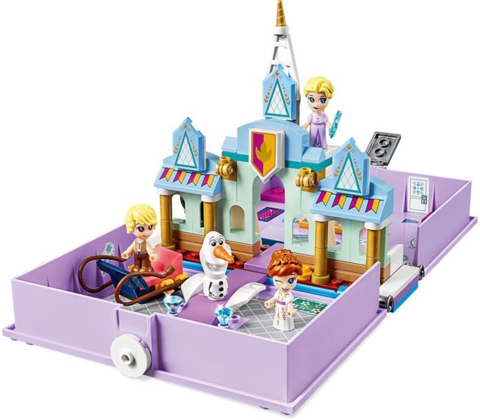 Il libro delle fiabe di Anna ed Elsa set LEGO 43175