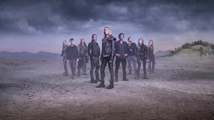 Immagine promozionale con il cast di The 100
