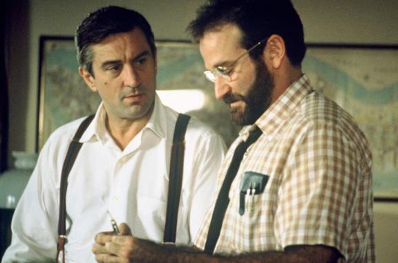 Robert De Niro e Robin Williams in Risvegli