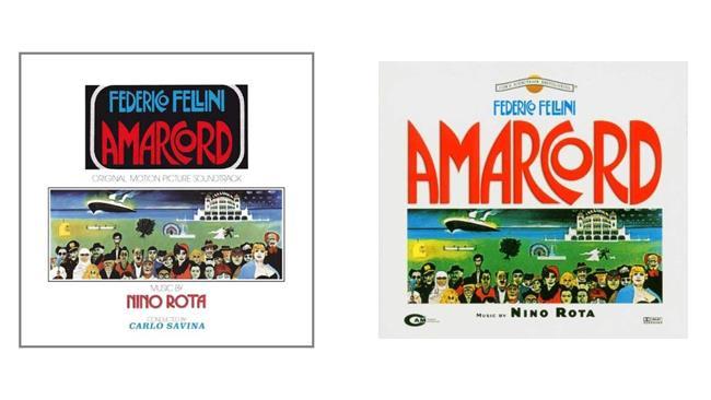 Amarcord le musiche di Nino Rota - vinile e cd