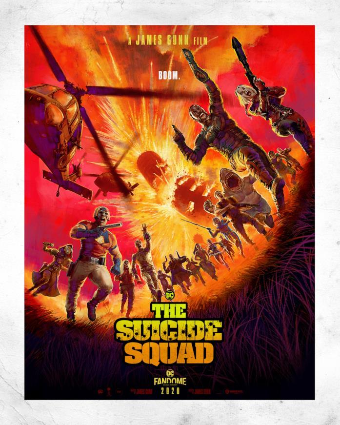 Tutti i personaggi di The Suicide Squad nel poster ufficiale