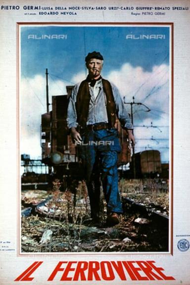 Poster Il ferroviere