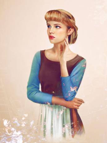 Dal cartoon Disney al mondo reale: Cenerentola