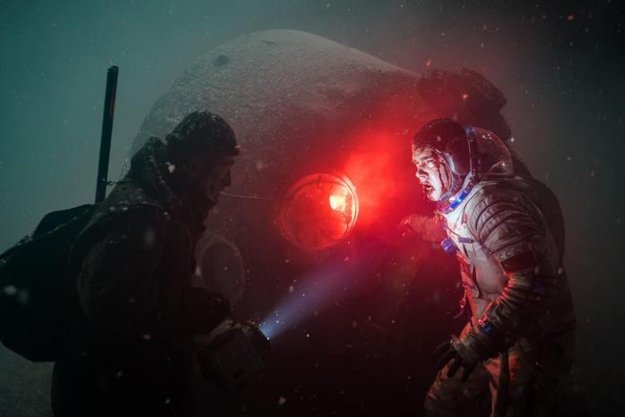 Konstantin sopravvissuto all'atterraggio dell'Orbit-4