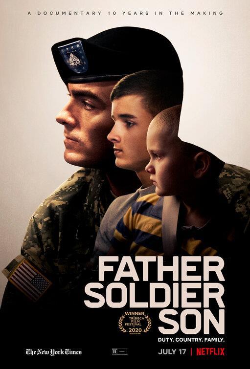 Il soldato padre e i due figli